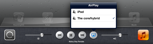 iOS Airplay Control